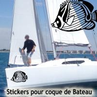 Stickers Adhésif Poisson 2