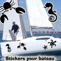 Stickers Adhésif Marin 2 par planche