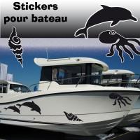 Stickers Adhésif Marin 1 par planche
