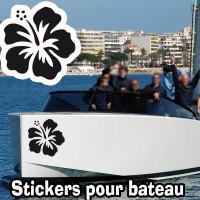 Stickers Adhesif  Hibiscus