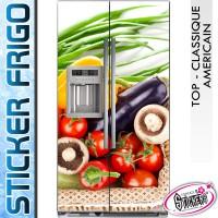 Stickers Frigo Legumes