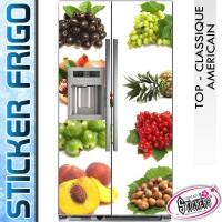 Stickers Frigo Fruits