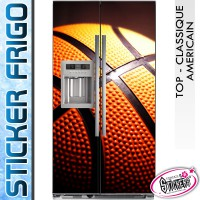 Stickers Frigo Ballon de Basket