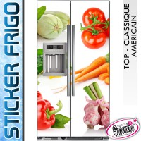 Stickers Frigo Légumes