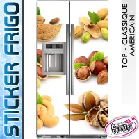 Stickers Frigo Fruits Secs
