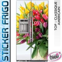Stickers Frigo Bouquet de Fleurs