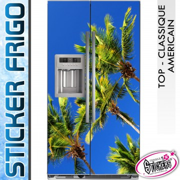 Stickers Frigo Palmier