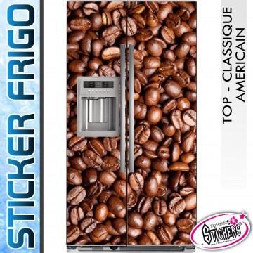 Stickers Frigo Grain de Café