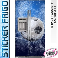 Stickers Frigo Ballon de Foot