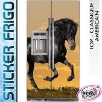 Stickers Frigo Cheval