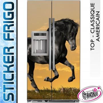 Stickers Frigo Cheval