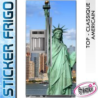 Stickers Frigo Statue de la Liberté New York