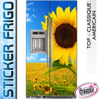 Stickers Frigo Tournesol