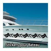 Stickers Autocollant coque Bateau Liseret 1