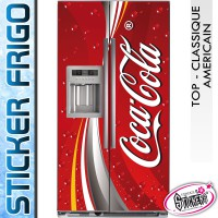 Stickers Frigo Coca Cola