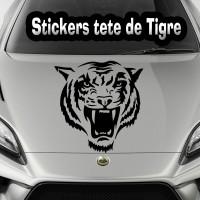 Stickers Tête de Tigre 4