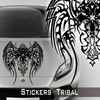 Stickers Tribal voiture 4