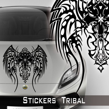Stickers Tuning Tribal