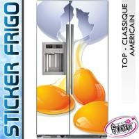 Stickers Frigo Oeuf