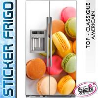 Stickers Frigo Macaron