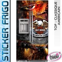 Stickers Frigo Harley Davidson