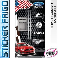 Stickers Frigo Ford Mustang GT Shelby Roush