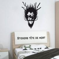 Stickers Tête de Mort 17
