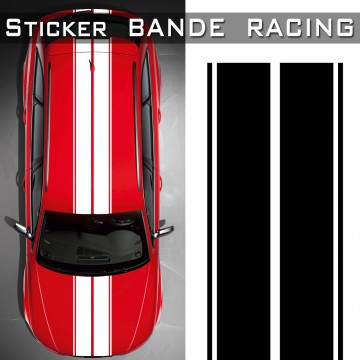 Stickers Voiture Bande Racing Tuning
