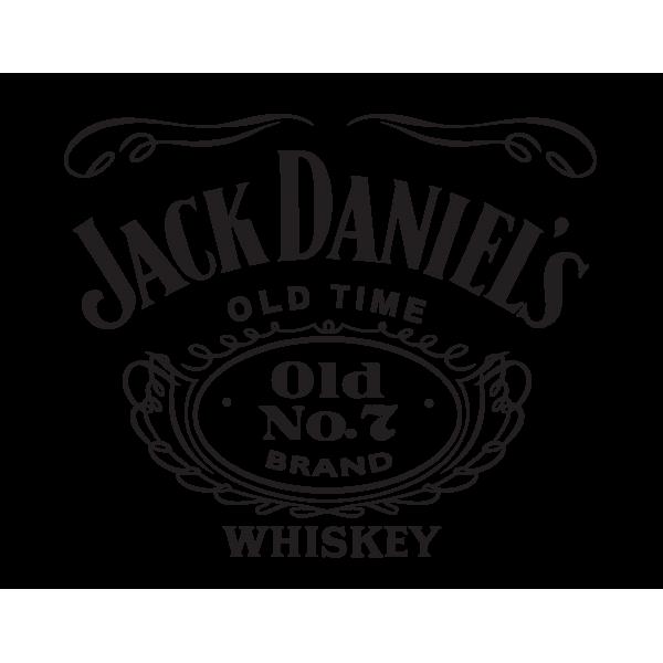Stickers jack daniel 39 s pas cher une d coration originale for Converse logo interieur ou exterieur