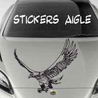 Stickers Autocollant Aigle