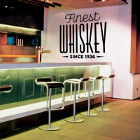 Stickers Autocollant Logos Finest Whiskey