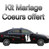 Stickers Autocollant Kit Mariage Romantique
