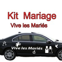 Stickers Kit Mariage Personnages