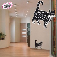 Stickers autocollant Chat