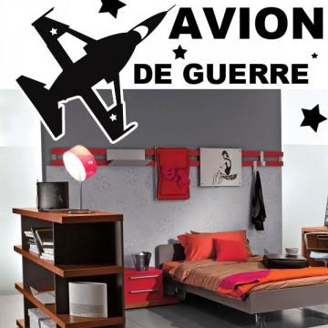 stickers Avion de Guerre