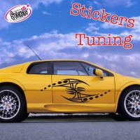 Stickers Autocollant Tuning Tribal