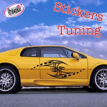 Stickers Autocollant Tuning Tribal vendu par 2