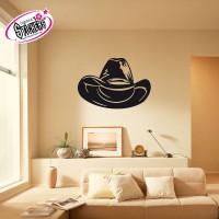 Stickers Autocollant Chapeau de Cowboy