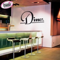 Stickers Autocollant Diner