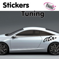 Stickers Autocollant Tuning GT