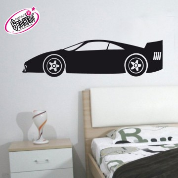 ce stickers voiture de sport pas cher s 39 int grera parfaitement dans votre int rieur ou ext rieur. Black Bedroom Furniture Sets. Home Design Ideas