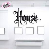 Stickers Autocollant House