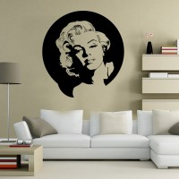 Stickers Autocollant  Marilyn Monroe