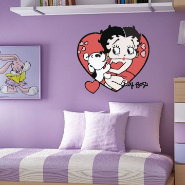 Stickers Autocollant Betty Boop