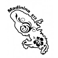Stickers Autocollant Madinina 972