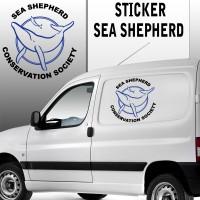 Stickers Autocollant Sea Shepherd