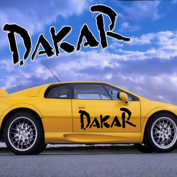 Stickers Dakar Rallye