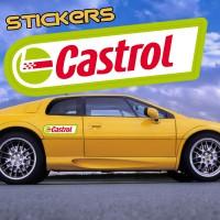 Stickers Autocollant Castrol