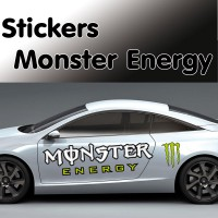 Stickers Autocollant Monster Energy