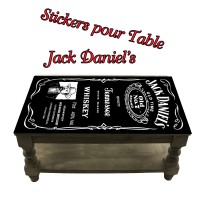 Stickers pour Table Jack Daniel's